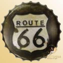 Capsule Geante Route 66 decoration metal cuisine restaurant