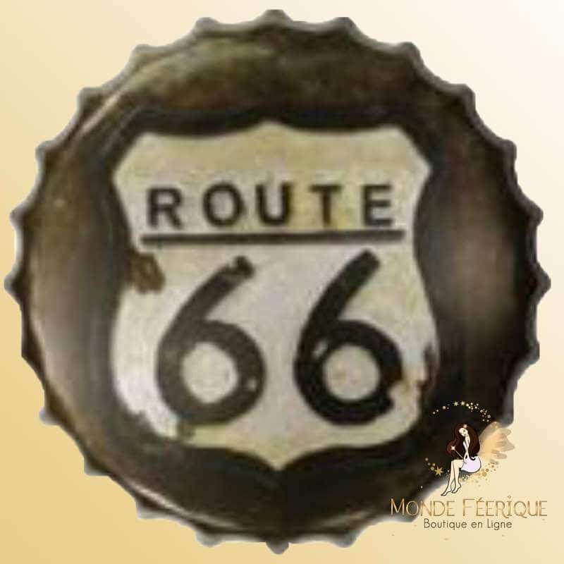 Capsule Geante Route 66 Style 40cm
