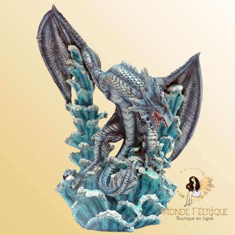 Figurine Dragon Enneigé