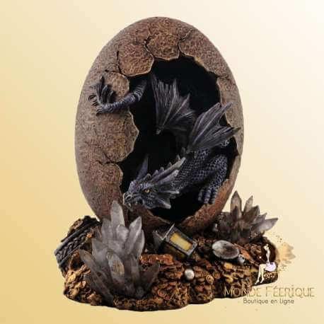figurines Dragons dans un Oeuf