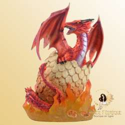 Figurine Dragon Rouge