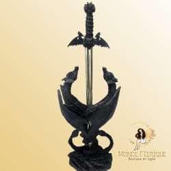 Epée avec 2 Dragons -- 29cm