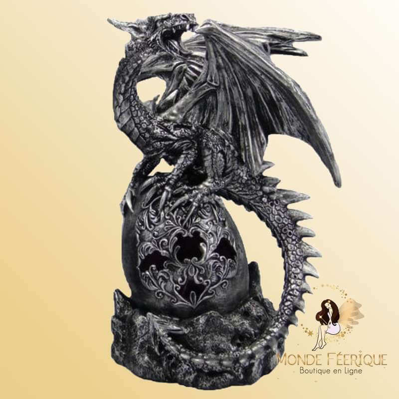 Statue Dragon Black Tenebra -- 24cm
