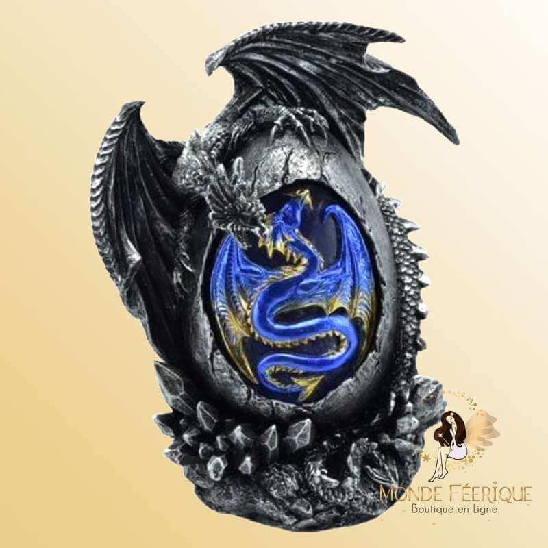 Figurine de dragon Lumineux Dark Blue