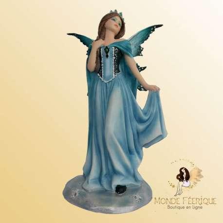 figurine fée bleue