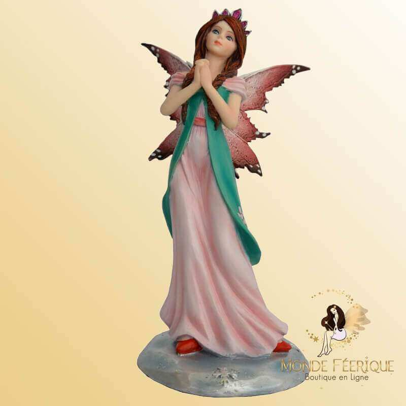 Figurine Fee Priant