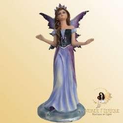 Statuette Fée Reine Violette