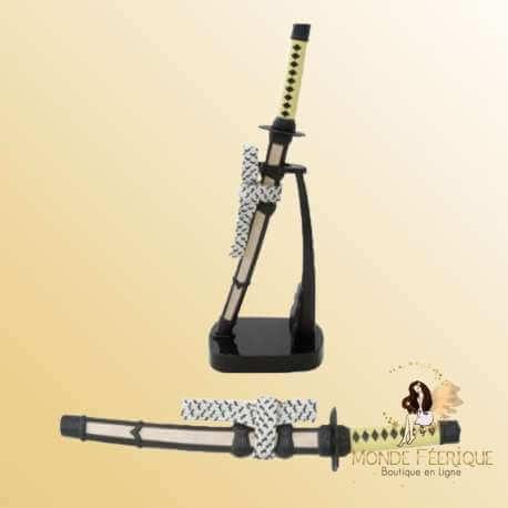 Epée Décoration Jaune & Noir