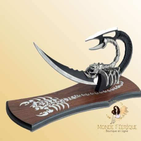 Dague Scorpion lame