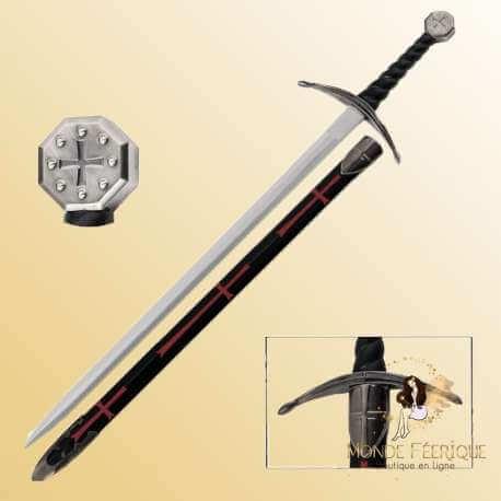 Epée Templière epee des templiers