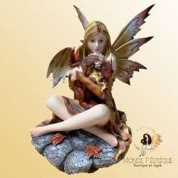 Figurine de Fée Love Dragon 26cm