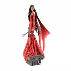 FIGURINE FEE JESSICA GALBRETH - MOONLIT MAGIC - CRIMSON MOON