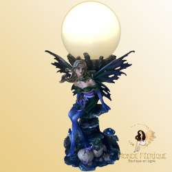 Lampe Fée Fantasy 1 -- 33cm