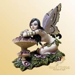 Figurine Fée Champignon