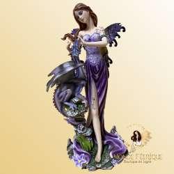 statuette FEE violet