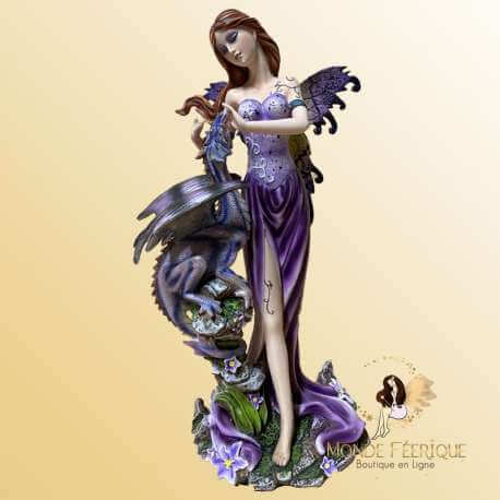 statuette FEE violet