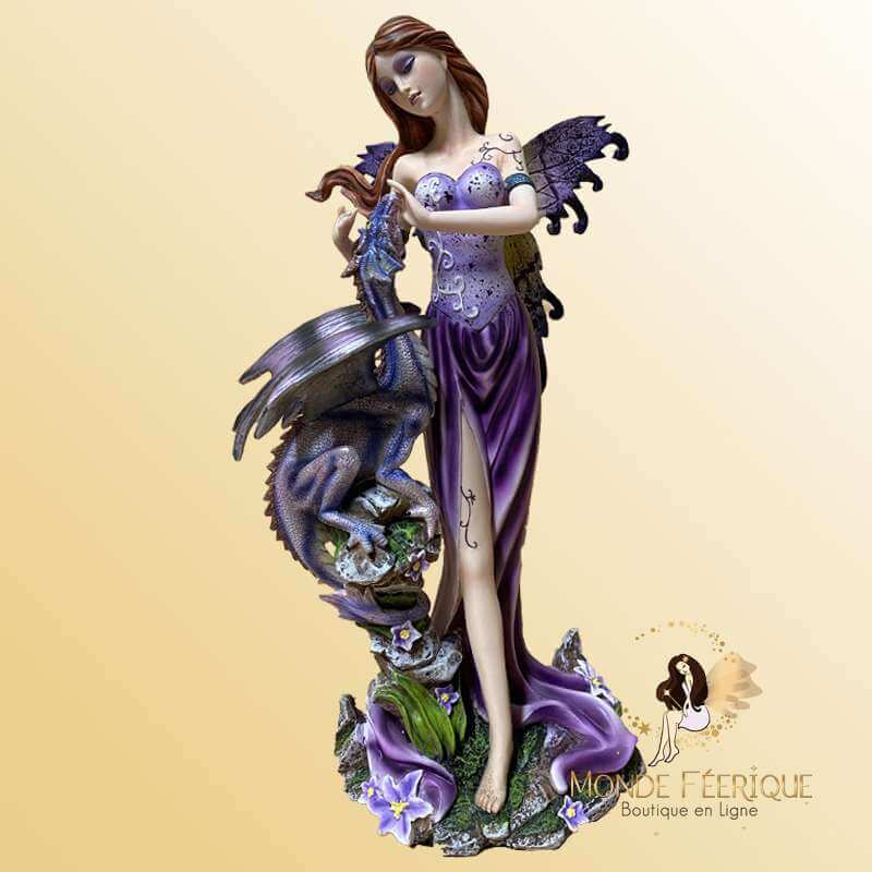 Figurine Fée debout Dragons -- 22cm