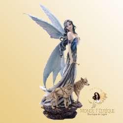Figurine Fée avec Loups