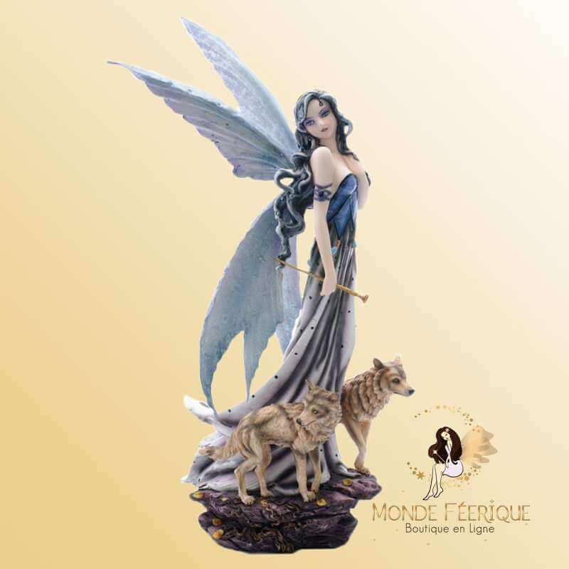 Figurine Fée Magic & Loups