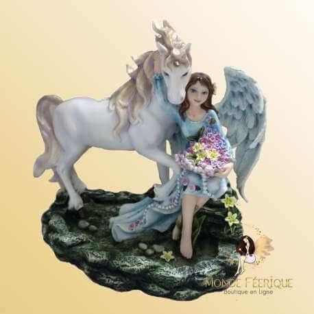 Figurine Fée & Licorne