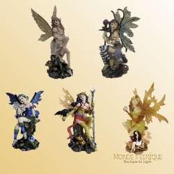Série 5 fées -- 17cm