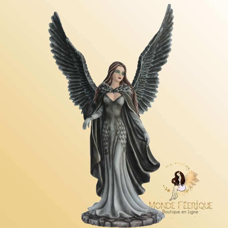 Grande Statue Fée gothique Angela -- 47cm