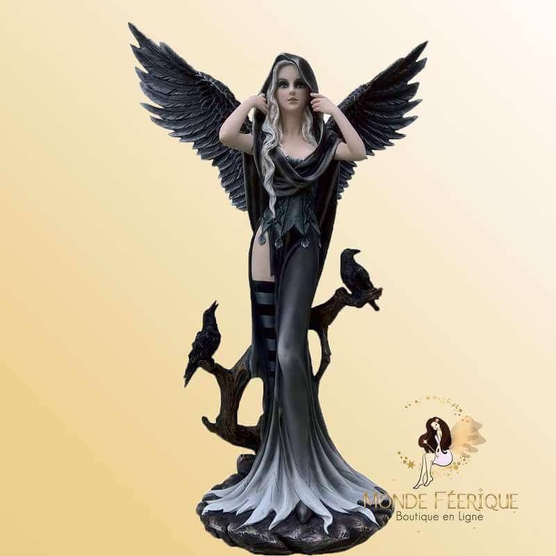 Statue Fée Gothique Angel Sephora -- 63cm