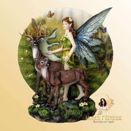 """Scène Féérique """" Vers la Nature"""" -- 26cm"""