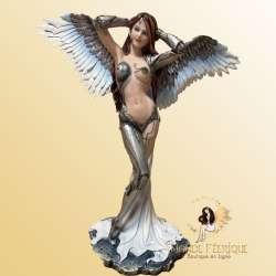 statue elfe fée geante