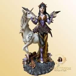 Figurine Fée Licorne