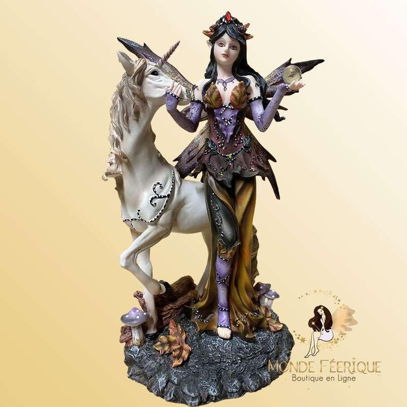 """Figurine Fée """"Magie des Bois"""" -- 23cm"""
