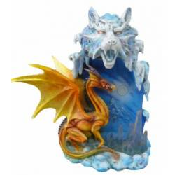 LAMPE DRAGON JAUNE