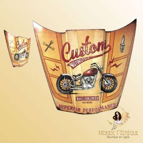 capot de voiture décoratif vintage retro decoration