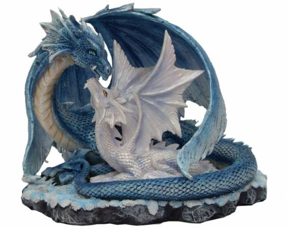 FIGURINE DRAGONS ENLACES