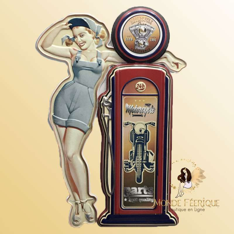 Deco Vintage Pin Up