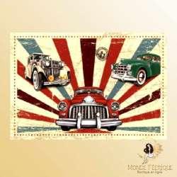 plaque de decoration collection voiture ancienne Plaque Métal