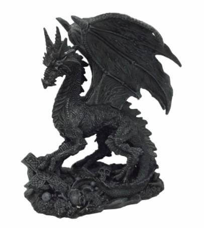Figurine de Dragon de l'enfer
