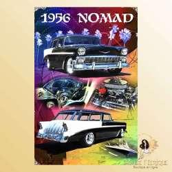plaque decoration ancienne voiture murale Plaque Vintage Décoration