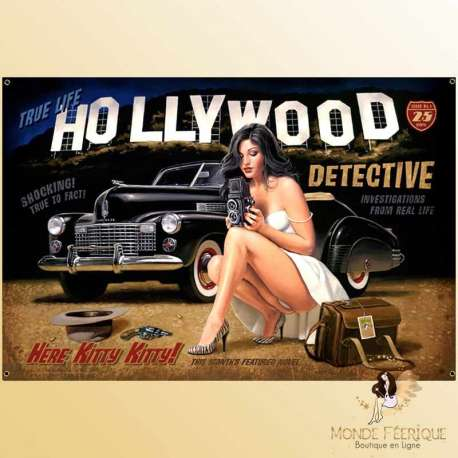 plaque decoration holywood vintage retro cinema decoration maison restautrant bar, cinema
