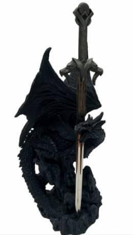Sceptre ensorcelé des Dragons 27cm