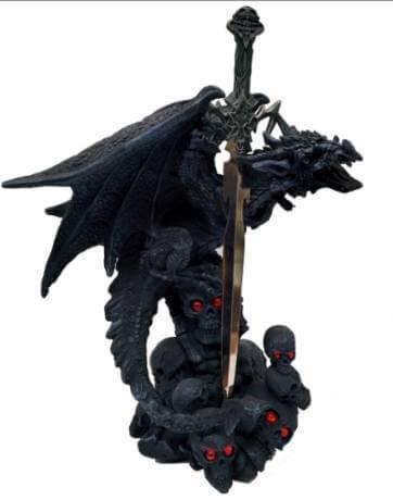 Figurine Dragon Epée au delà 24cm