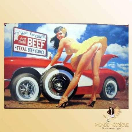 Plaque Décoration Vintage -- 20x30cm