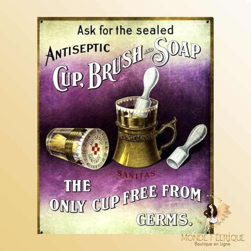 Plaque Décoration Vintage Medicaments -- 20x30cm