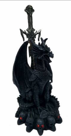 "Figurine Dragon ""Maléfice"" 28cm"