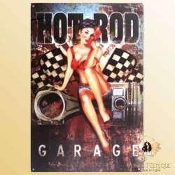 plaque metallique decoration pin up formule 1 course auto voiture ancienne Plaque Déco Vintage -- 20x30cm