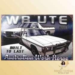 plaque mur deco voiture ancienne vintage publicité