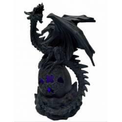 Figurine Dragon Gardien Lumière 24cm