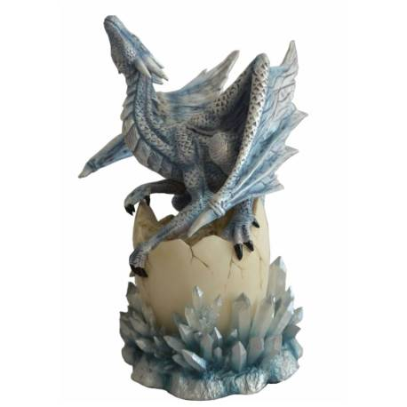 FIGURINE BEBE DRAGON DES CRISTAUX