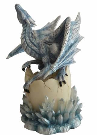 Figurine bébé Dragon des Cristaux 24cm