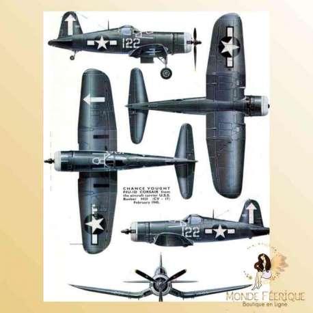 plaque vintage aviation mur avion retro deco murale plaque metallique Plaque Déco Mur -- 20x30cm